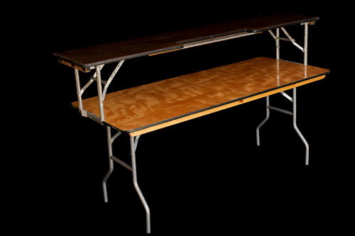 Skirted Table Top Bar